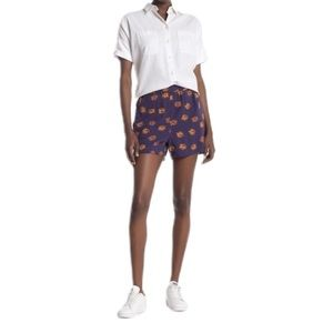 NWT Madewell Printed Pull-On Shorts